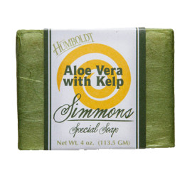 Aloe Vera/Kelp Simmons Natural Bar Soap 4oz