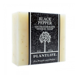 Black Pepper Aromatherapy Herbal Soap