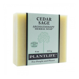 Cedar Sage Aromatherapy Herbal Soap