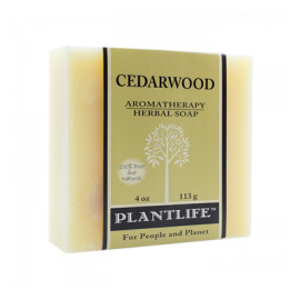 Cedarwood Aromatherapy Herbal Soap