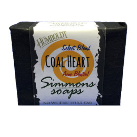 Coal Heart Simmons Natural Bar Soap 4oz