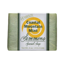 Coastal Mountain Mint Simmons Natural Bar Soap 4oz