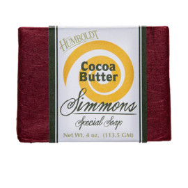 Cocoa Butter Simmons Natural Bar Soap 4oz