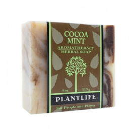 Cocoa Mint Aromatherapy Herbal Soap