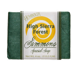 High Sierra Forest  Simmons Natural Bar Soap 4oz