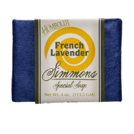 French Lavender Simmons Natural Bar Soap 4oz