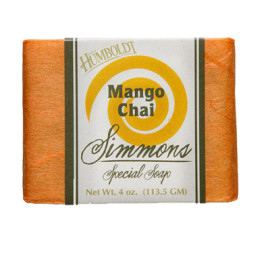 Mango Chai Simmons Natural Bar Soap 4oz