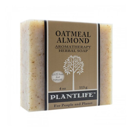 Oatmeal Almond Aromatherapy Herbal Soap