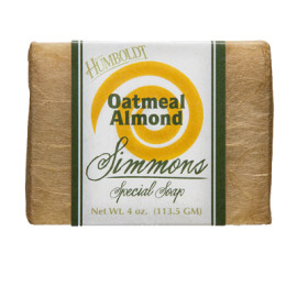 Oatmeal Almond Simmons Natural Bar Soap 4oz