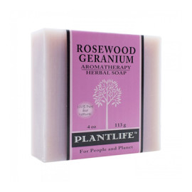 Rosewood Geranium Aromatherapy Herbal Soap