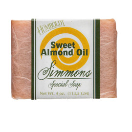 Sweet Almond Oil Simmons Natural Bar Soap 4oz