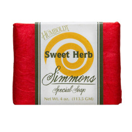 Sweet Herb Simmons Natural Bar Soap 4 oz