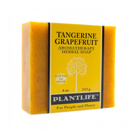 Tangerine Grapefruit Aromatherapy Herbal Soap