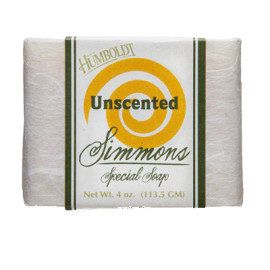 Unscented Simmons Natural Bar Soap