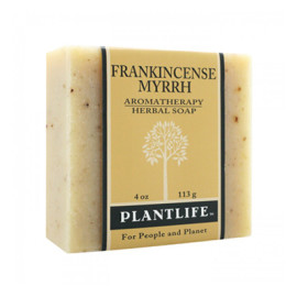 Frankincense Myrrh Aromatherapy Herbal Soap