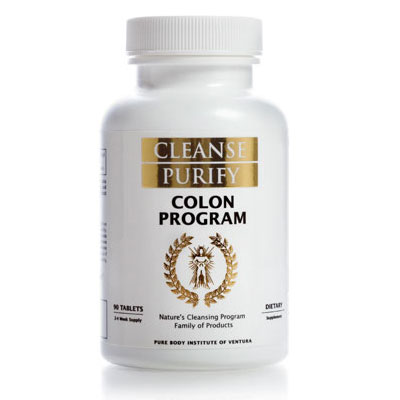 Colon Program Bottle